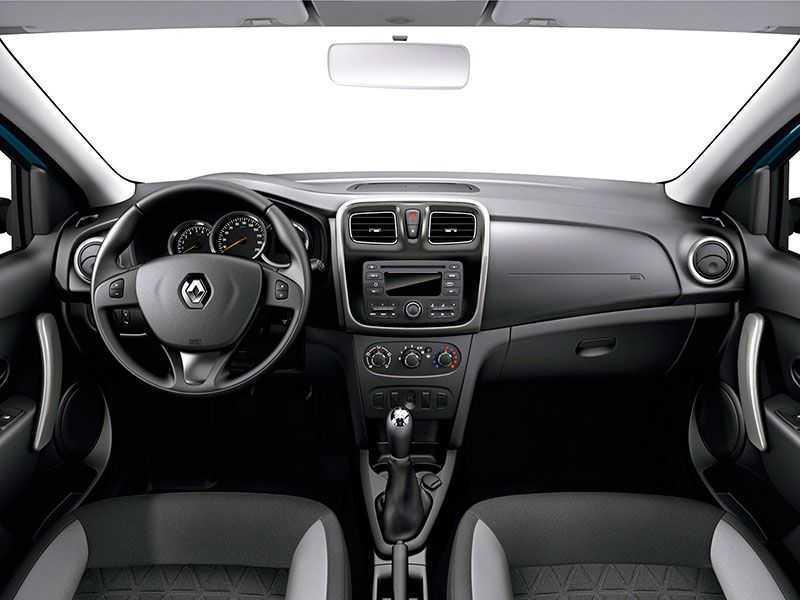2014 interior 1 - Технические характеристики Рено Логан 1.6