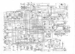 Пример электросхемы Рено