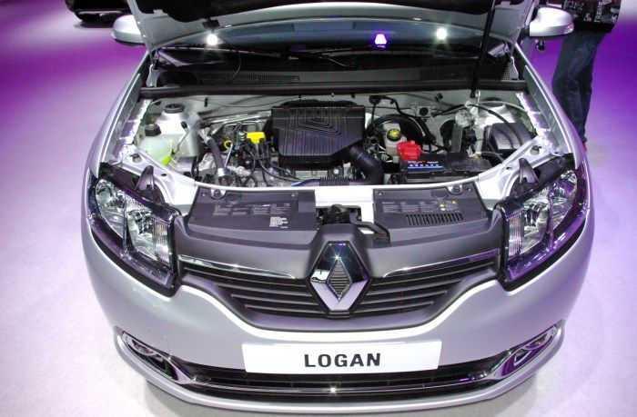 Расход топлива Рено Логан с двигателем 1.6