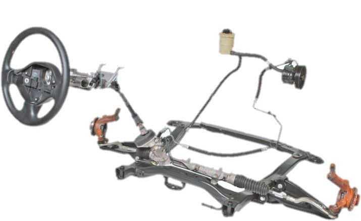 Рулевая тяга и замена рулевых наконечников