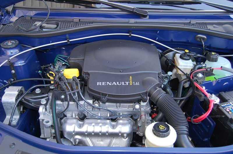 Мотор Логан 1.6 л
