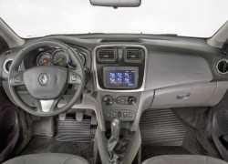 Управление Renault Logan 2015