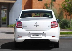 Renault Logan 2014, вид сзади