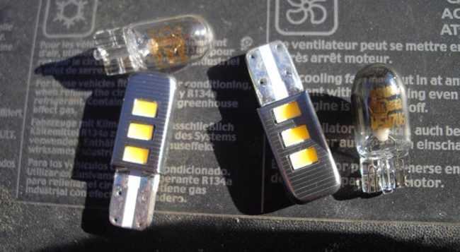 Рено Логан замена противотуманной лампы